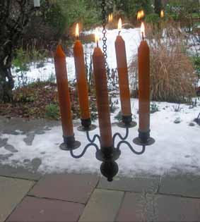 4. Advent mit vielen Lichtern