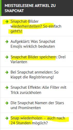 Snapchat ist nicht sicher